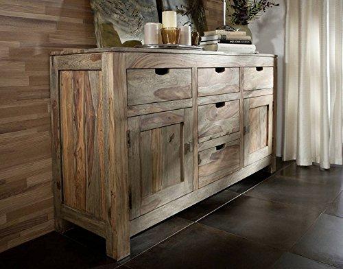 palissandro mobili in legno massello credenza Sheesham in legno ...