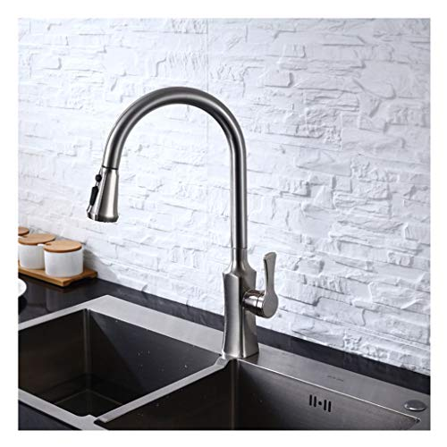 Yxx Max Miscelatore Cucina Pull Type Cool E Hot Water Faucet Rubinetto  Completo In Rame (