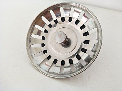 Tappo lavello da cucina in acciaio inox con