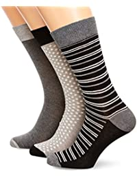 French Connection 3 Pack Sock In a Wrap Top EMB - Chaussettes - Homme