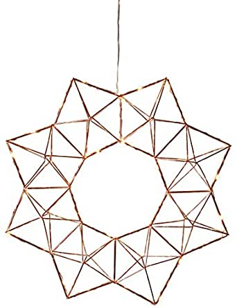 Star Trading 690-51 Suitable for indoor use 30lamp(s) LED Copper - decoration lighting (30 lamp(s), LED, Copper, Metal, IP20, 3.5 m)