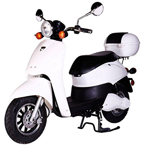 Preisvergleich Produktbild Rolektro Retro Light 40 mit EU Strassenzulassung Elektroroller E-Scooter 1200 W Motor 60 KM Reichweite 40 KmH Höschstgeschwindigkeit Eroller E-roller Elektro-Roller Scooter