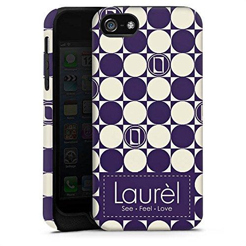 Apple iPhone X Silikon Hülle Case Schutzhülle Laurèl Talking Logomania Laurel Tough Case matt