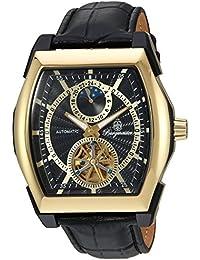 Burgmeister BM222-222 - Reloj de pulsera Hombre, Cuero, color Negro