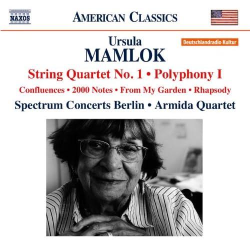 Mamlok: String Quartet No. 1 - Polyphony No. 1