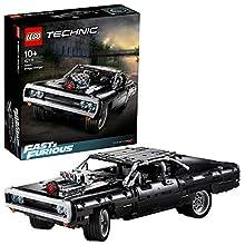LEGO Technic Dom's Dodge Charger per Ricreare le Scene di Fast and Furious, Avventure ad Alta Velocità, Idea Regalo per Bambini +10 Anni, Fan e Amanti delle Auto, 42111