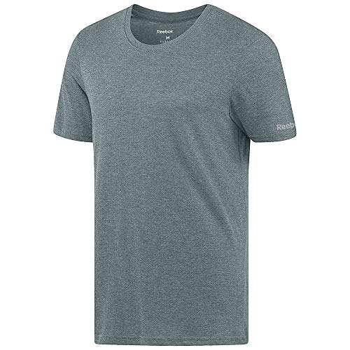 Reebok Crossfit Men's Green Tri-Blend Crewneck T-Shirt (L) -
