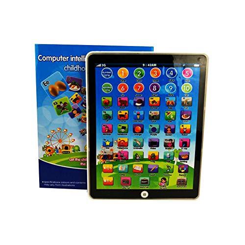BEESCLOVER Kinder kinder mini nachahmung ipad intelligente frühe pädagogische lernen spielen tablet spielzeug weihnachten geburtstagsgeschenk für mädchen jungen baby lernmaschine