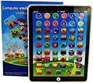 MeterMall Kids Children Mini Imitative iPad Toy Intelligent Early Educational Learning Playing Tablet Toys Chr