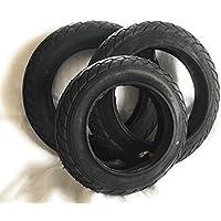 """SET: 2x 12"""" und 1x 10"""" Reifen Luftbereifung Ersatzreifen Deli Tire SA-206 Mantel und Schlauch 12 1/2 x 2 1/4 (62-203) und 10 x 2.0 (54-152)"""