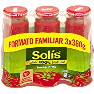 Solis Tomate Frito - Pack de 3 x 360 g - Total: 1080 g