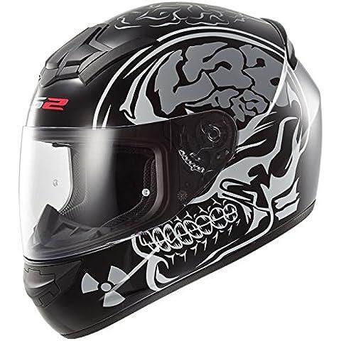 LS2FF352nueva rayos X Full Face casco de ciclo de Motor para bicicleta de carreras de Crash ciudad UK legal en carretera y pasamontañas