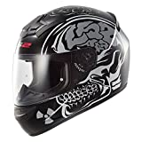 LS2 FF352 Neue X-Ray Full Face Motor Cycle Bike Racing Crash City UK Road Legal Helm und Sturmhaube