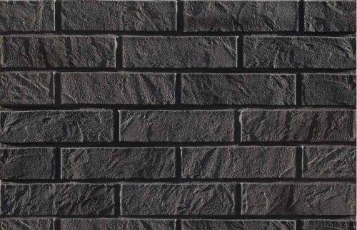 Stein gleitet Verkleidungen Wand Fliesen flexibel, 156Fliesen)-3qm-Graphit Brick (Brick-wand-fliesen)