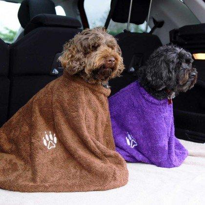 TowelsRus Handtuch für Hunde, braun, ()