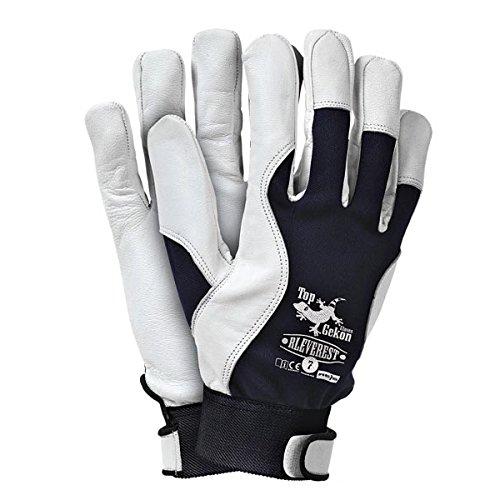 Profi Lederhandschuhe Handschuhe Gartenhandschuhe Arbeitshandschuhe Montagehandschuhe Schutzhandschuhe Montage Größe 8