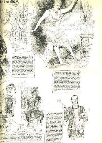La vie parisienne 30e année - n° 26 - monsieur le duc, ii. premiers accord de gyp. - etudes sur le mobilier: timbres et sonettes de sahib. - profils de diplomates: vii. m. j. coderidge.