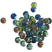 Cat\'s Eye Marbles - 50 in a bag + spares (against damage)
