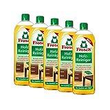 5x Frosch Holz Reiniger 750 ml - mit natürlichen Pflegewirkstoffen der Kiefer