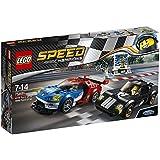 LEGO Speed Champions Ford GT de 2016 y Ford GT40 de 1966 - juegos de construcción (Multicolor, 7 año(s), 366 pieza(s), 14 año(s), 3 pieza(s))