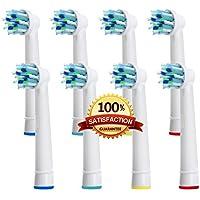 Beauty Nymph Generic di alta qualità compatibile con spazzolino elettrico Oral b Spazzolino antibatterico EB-50A CrossAction Power