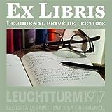 LEUCHTTURM1917EX LIBRIS 342898Notizbuch, A5Medium in French 252nummerierte Seiten schwarz