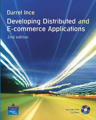 Developing Distributed and E-Commerce Applications + CD