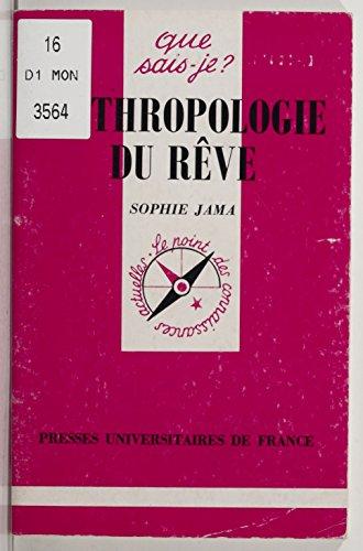 Livres gratuits en ligne Anthropologie du rêve pdf ebook