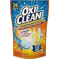 OxiClean Dishwasher Detergent, Lemon Clean, 26 Count