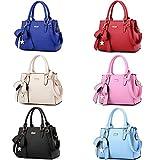 Felicove Mode große Tasche, Frau Retro Handtasche Design Weibliche Tasche Damen Tasche PU lässigen Kette Handtasche Europäische Stil Tragetasche Marken Ledertasche für tägliches Leben