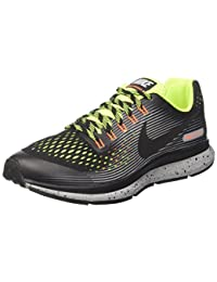Nike Zoom Pegasus 34 Shield (Gs), Zapatillas de Running para Niños