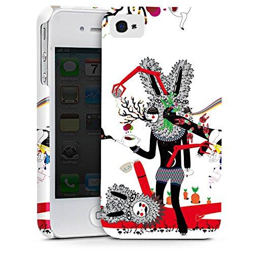Apple iPhone X Silikon Hülle Case Schutzhülle Abstrakt Maske Collage Premium Case glänzend