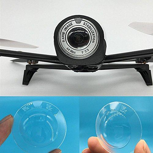 Bescita - Protection d'objectif transparente Anti-poussière pour caméra drone Parrot Bebop 2,...