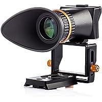 TARION TR-V2 LCD Visor de Pantalla 2.5x aumento de la pantalla Lupa con placa de liberación rápida para DSLR GH4 A7 A7R A7S A7II A7RII A7SII