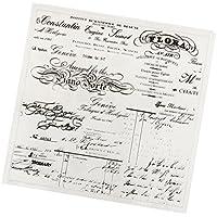 MagiDeal Sello Transparente de Goma Silicona para DIY Colección de Recortes Tarjeta de Invitación