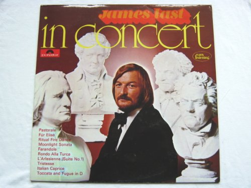 James Last In Concert LP Polydor 2371191 EX/EX 1972