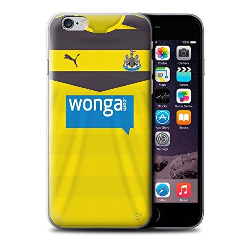 Offiziell Newcastle United FC Hülle / Case für Apple iPhone 6S+/Plus / Rivière Muster / NUFC Trikot Home 15/16 Kollektion Torwart