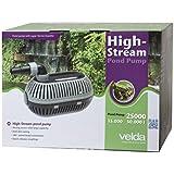Velda 126476Pompe de bassin pour installation humide/sec pour max. Hauteur de refoulement 8,5m, 520W, Haut de Stream 25000