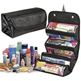 Brezzycloud Black Roll N Go Travel Buddy Cosmetic Bag