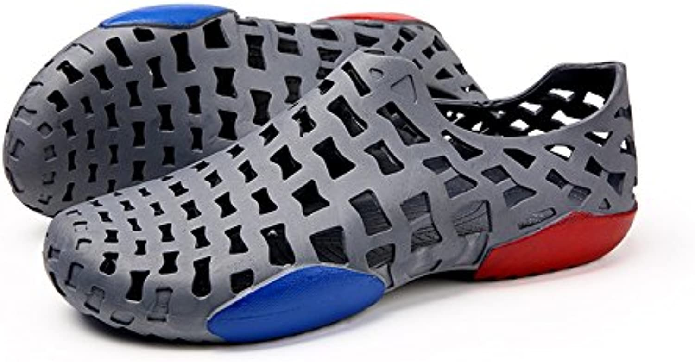 Juans-shoes, Zapatos para Hombre Sandalias Ocasionales al Aire Libre de los estorbos de los Hombres Tacón Plano...