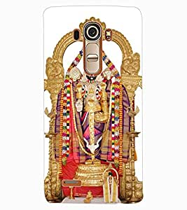 ColourCraft GOD Tirupati Balaji Design Back Case Cover for LG G4