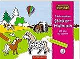 Mein kleiner Ponyhof: Mein erstes Sticker-Malbuch