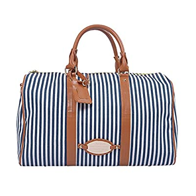 BAOSHA HB-24 Ladies Women Canvas Weekender Bag Travel Duffel Tote Bag Weekend Overnight Travel Bag