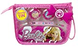 Markwins Barbie Geschenk-Set, 1er Pack (Make-Up-Set, Haarspange, Metallbox mit Barbie-Print, stylische Kosmetik-Tasche)
