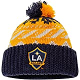 LA GALAXY LA GALAXY CUFFED KNIT POM HAT NAVY