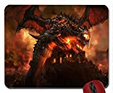 Cataclysm Deathwing mouse pad computer mousepad
