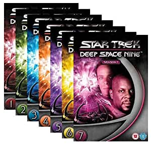 "DVD Box Sets Star Trek "" Deep Space Nine "" - Komplette Serie Staffel 1-7 (48 DVD`s)"
