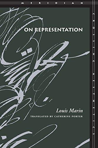 On Representation (Meridian: Crossing Aesthetics) por Louis Marin