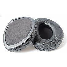Repuesto almohadillas almohadillas cojín de ratón para Sennheiser RS160RS170, RS180Auriculares piezas de reparación (negro)