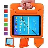 NEWSTYLE Samsung Galaxy Tab S2 9.7 Zoll EVA Stoßfeste Schutzhülle Tragbar für Kinder mit Ständer Schutzhülle Standfunktion für Galaxy Tab S2 9.7 Zoll SM-T810 SM-T815 Tablet , Orange